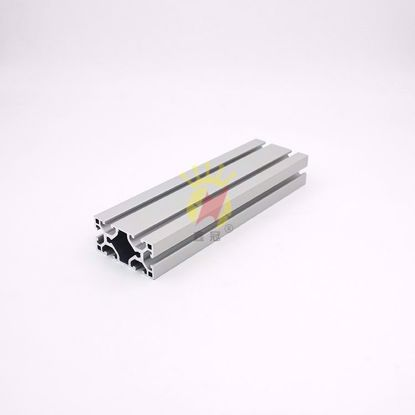 图片 喷砂氧化银白 工业铝型材