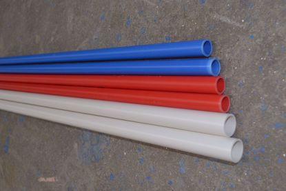 PVC-U阻燃电工套管又名穿线管. 火线零线分开,有效规避线路安装过程的混乱,便于电线识别、布管、检修及后期家庭布线升级,从而保护电线。 管材采用优质材料,质优价廉,摩擦系数小,抗压强,韧性好,耐热,耐磨,防潮,防漏电等特点