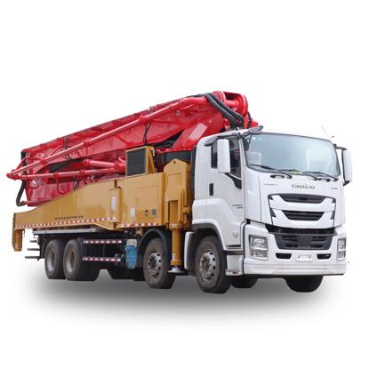 图片 58米混泥土泵车